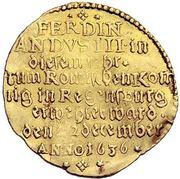 1 Ducat - Ferdinand III. (Coronation) – revers