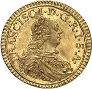 ¼ Ducat - Franz I. – revers