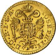 ¼ Ducat - Joseph II. – avers