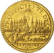 ¼ Ducat - Joseph II. – revers