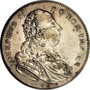 ½ Taler - Josef II – revers