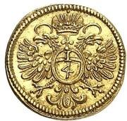 ¼ ducat – revers