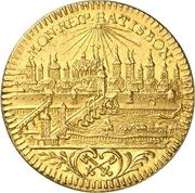 ½ Ducat - Franz I. – revers
