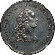 1 thaler - Francois II – revers