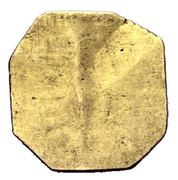1 Heller (Uniface gold pattern strike) – revers
