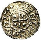 1 denar Heinrich III. – avers