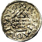 1 denar Heinrich III. – revers