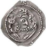 1 Pfennig - Heinrich I. von Niederbayern – revers