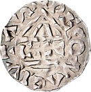 1 Denar - Heinrich IV der Heilige – revers