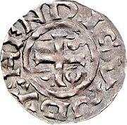 1 Denar - Heinrich IV der Heilige – avers