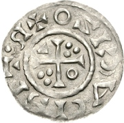 1 Denar - Heinrich II (Regensburg) – revers