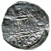 1 denar Heinrich III – revers