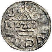 1 Denar - Heinrich II. – revers