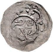 1 Dünnpfennig - Ludwig I. -  avers