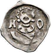 1 pfennig Otto III – avers
