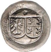 1 Pfennig - Ulrich VI. (Hohlpfennig) – avers