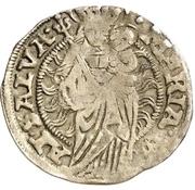 1 Mariengroschen -  Ernst I., Botho and Caspar Ulrich – revers