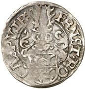 1 Fürstengroschen - Ernst I., Botho and Caspar Ulrich – avers