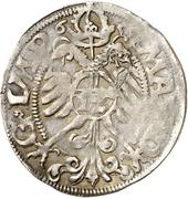 1 Fürstengroschen - Ernst I., Botho and Caspar Ulrich – revers