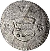 1 pfennig - Johann Rudolf – avers