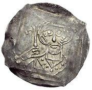 1 Dünnpfennig - Ulrich IV. von Heidegg – avers