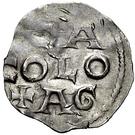 1 Denar - Otto III. – revers