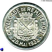 25 Centimes - Cavalcade de Remiremont - Remiremont [88] – avers