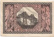 50 Pfennig (Rendsburg) – revers