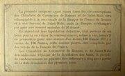 50 centimes - Chambres de Commerce de Rennes et de St Malo [35] – revers