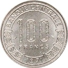 100 francs (type 1) – revers