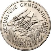 100 Francs CFA (Essai) -  avers