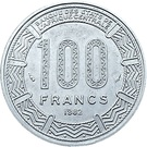 100 francs (type 2) – revers