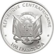 100 Francs / Panda – avers