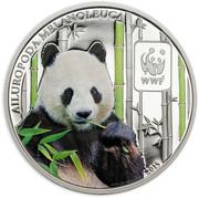 100 Francs / Panda – revers