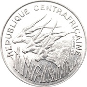 100 francs (type 1) – avers