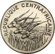 100 francs (Essai) -  avers