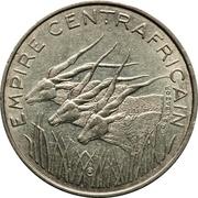 100 francs (Empire Centrafricain) – avers