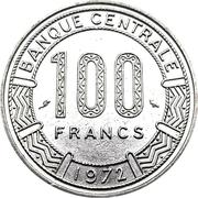 100 francs (type 1) – revers