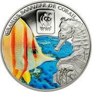 100 francs CFA (Grande Barrière de Corail) – revers