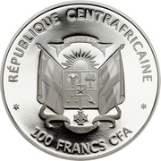 100 francs CFA (Ours blanc) – avers