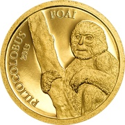 1000 francs (Piliocolobus Foai) – revers