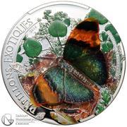 1000 Francs CFA (Papillons exotiques) – revers