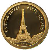 1000 francs (La tour Eiffel Paris) – revers