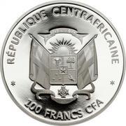 100 francs CFA (Baleine bleue) – avers
