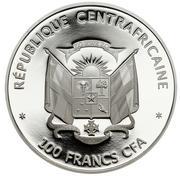 100 francs CFA (Grande Barrière de Corail) – avers