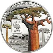 100 francs CFA (Baobab de Grandidier) – revers