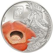 100 Francs CFA (Rafflesia) – revers
