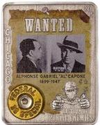 1000 Francs CFA (Al Capone) – revers