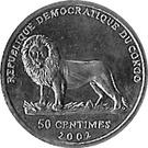 50 centimes (Verney L. Cameroen) – avers