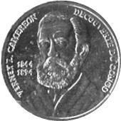 50 centimes (Verney L. Cameroen) – revers